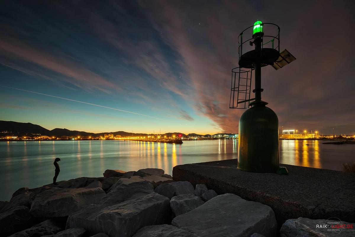 Toskana und Ligurien 2014 Viareggio Sunrise