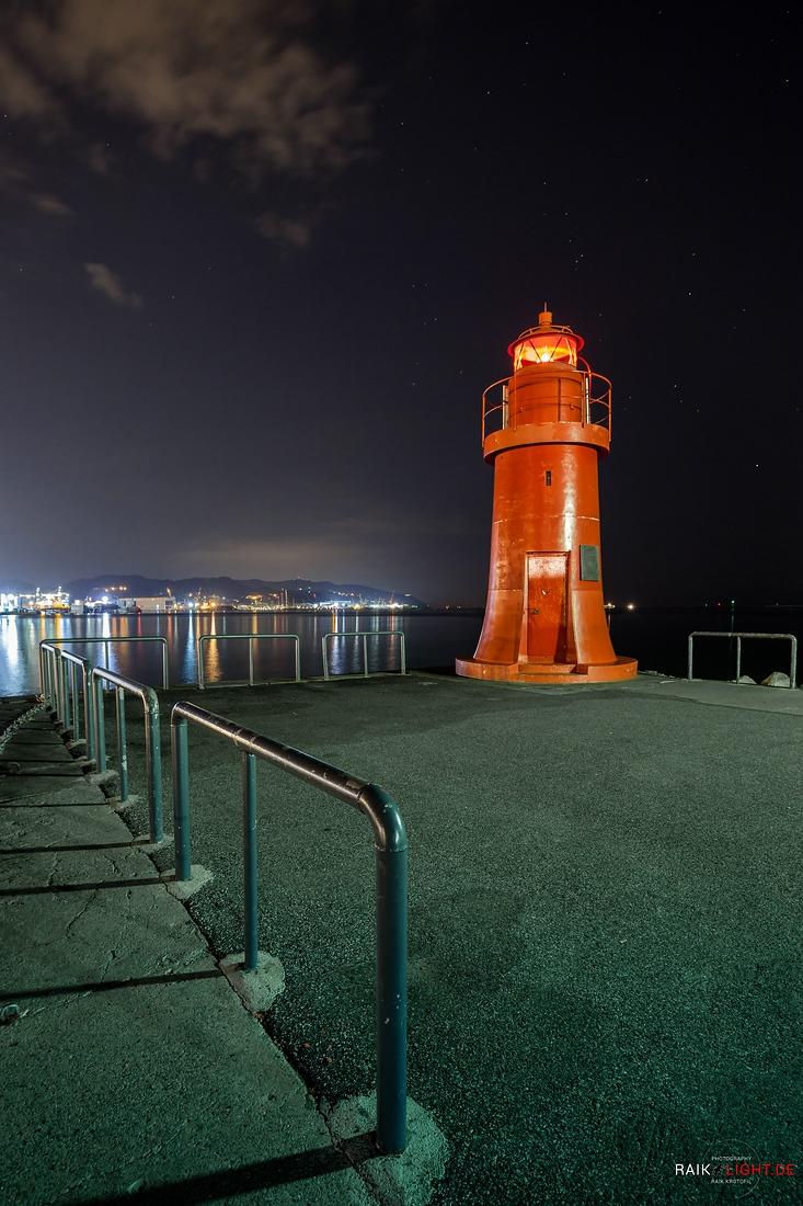 Toskana und Ligurien 2014 Hafen La Spezia Leuchtturm