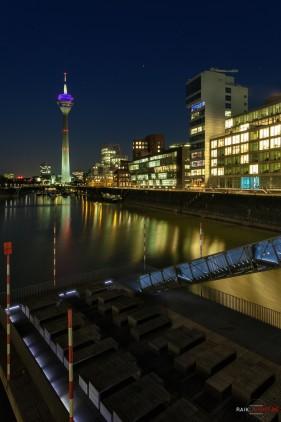 Deutschland Düsseldorf Medienhafen