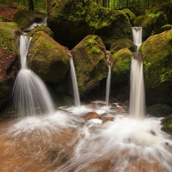 Gertelbach 2014,Schwarzwald Wasserfälle