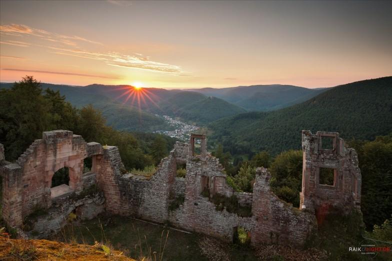 Burg Neuscharfeneck,Deutschland,Pfal