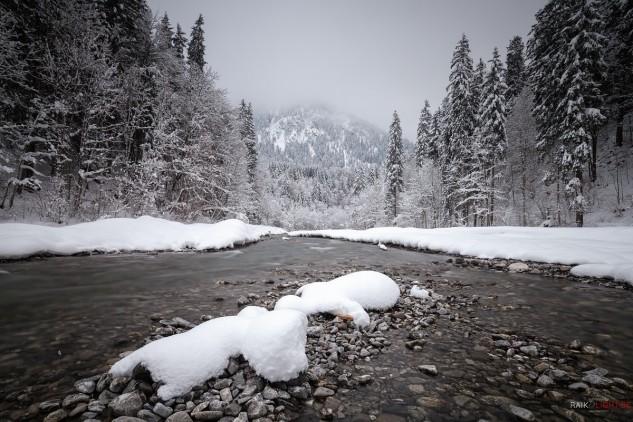 Oberstdorf,Silveseter 2014,Trettach,Winter