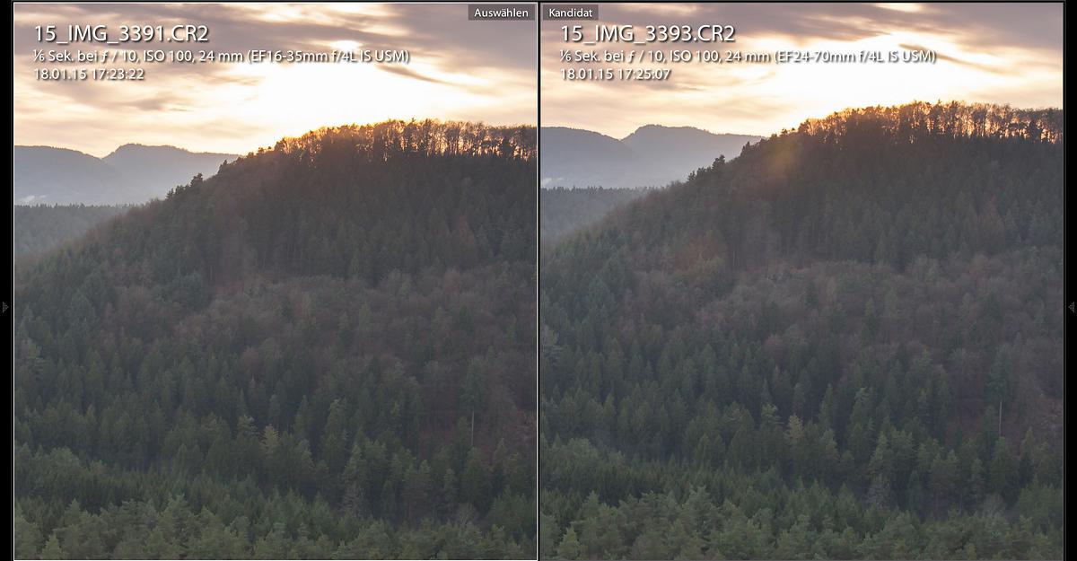 Vergleich Canon 16-35 4.0L und 24-70 4.0L