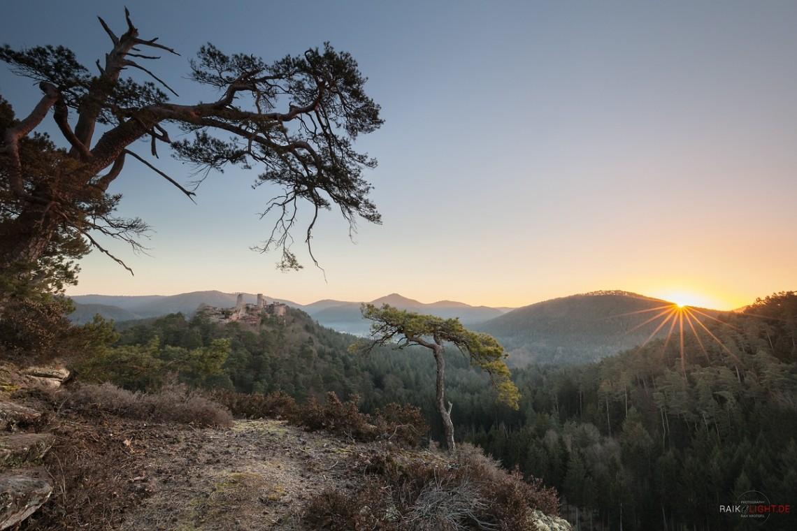 Pfälzerwald, Haferfelsen, Schützenwand, Altendahn, Dahn, Felsenland