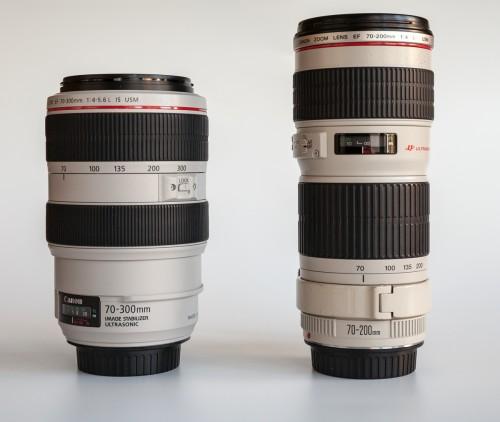 EF 70-200 4.0L USM vs EF 70-300 4.0-5.6 L IS USM