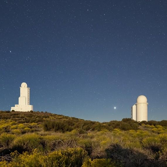 Observatorium, Caldera, Teide, Teneriffa,