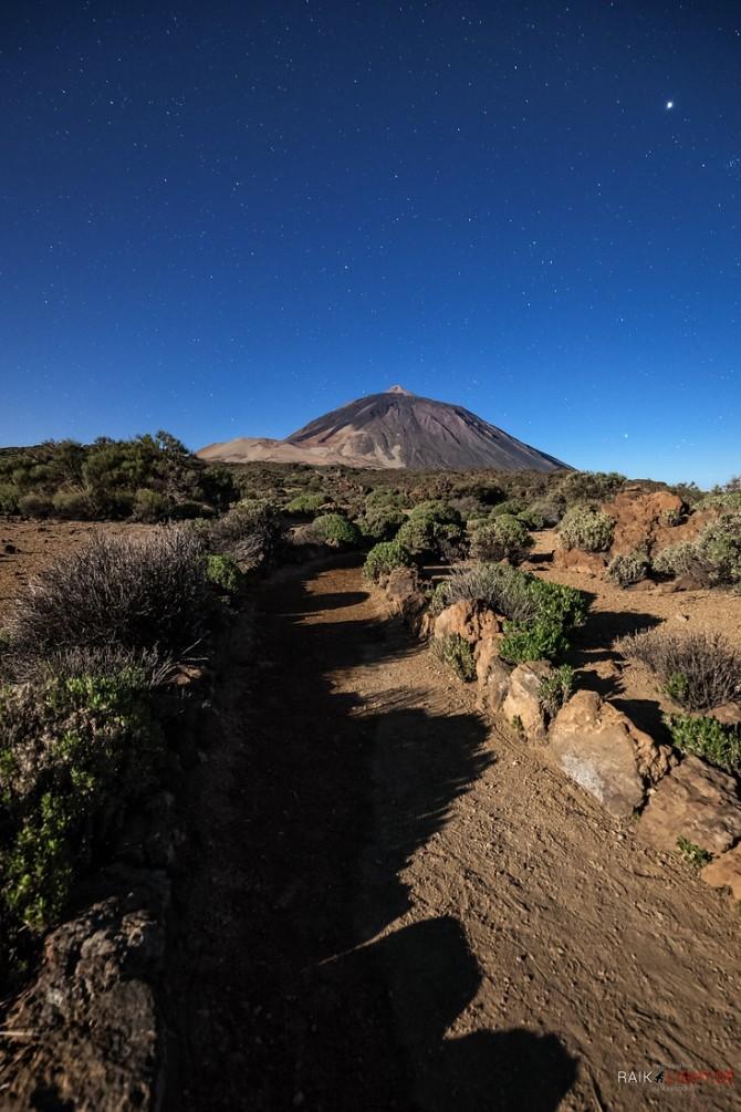 Teneriffa, Teide, Obervatorium, Caldera