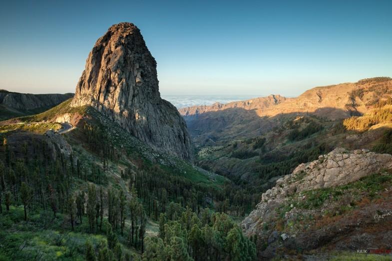 La Gomera, Roque Agando