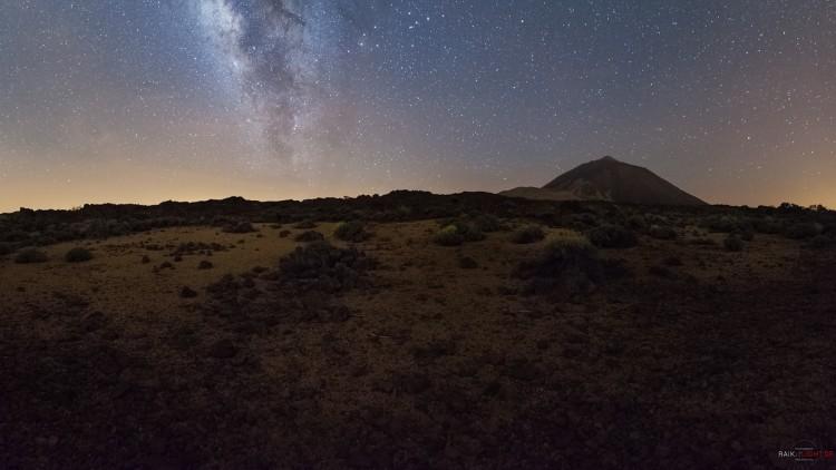 Teneriffa, Teide, Milchstrasse, Caldera
