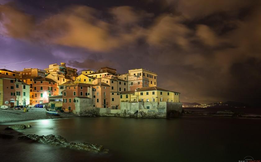 Boccadasse, Genua, Ligurien