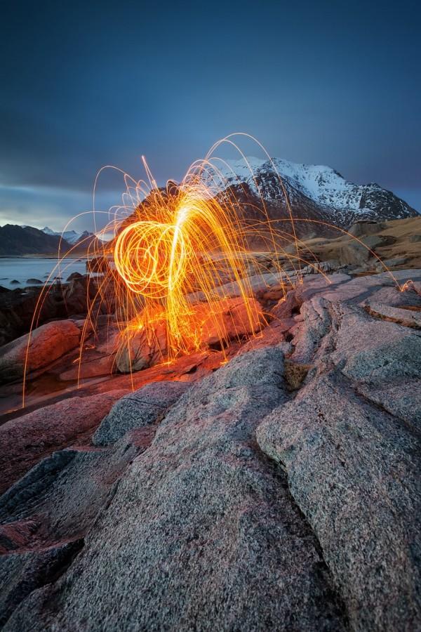 Uttakleiv, Lofoten, Norwegen