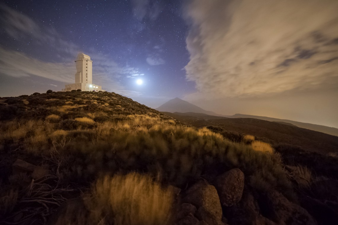 Teide, Teneriffa, Observatorium