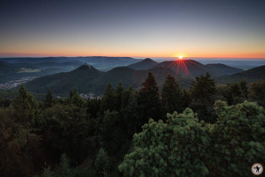 Pfälzerwald - Trifels Dahner Felsenland Wandern Selvigt Wanderarena Urlaub in Deutschland