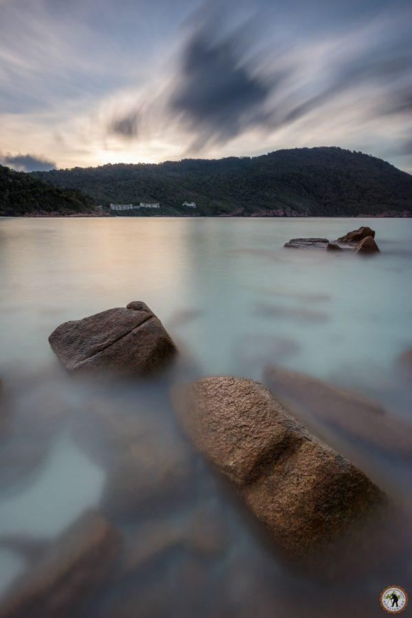Pulau Redang Isöland Malaysia Sunset