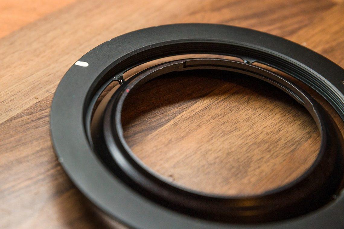 Haida Filterhalter umbauen für Laowa 12mm Objektiv