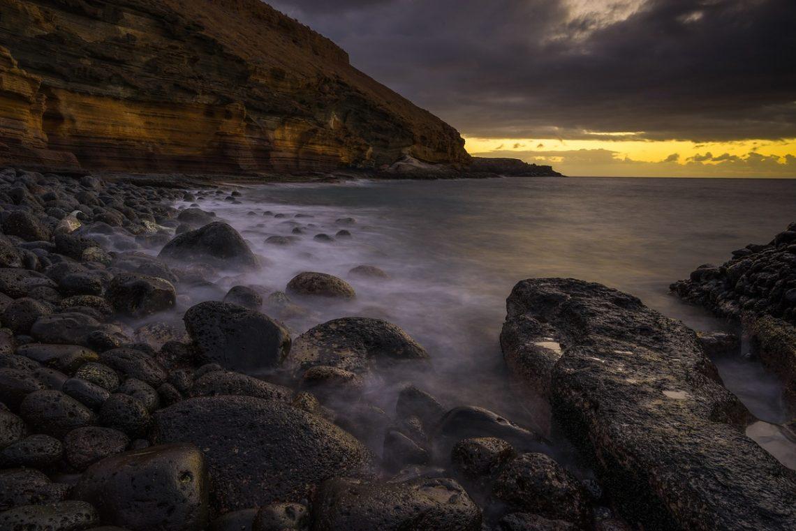 4 Sekunden Belichtung an Teneriffas Südküste