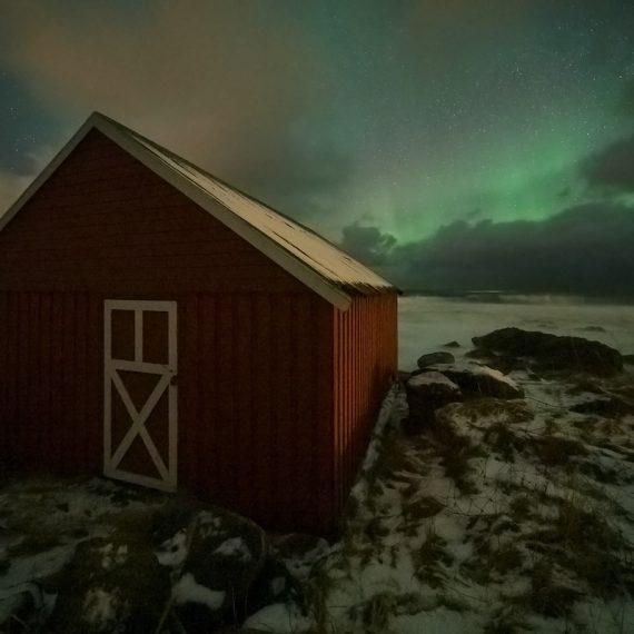 Winter Aurora Lofoten