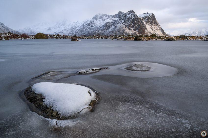 Eis Lofoten, Winter, Januar, Schnee, Norwegen, Polarlicht, Fotoreise