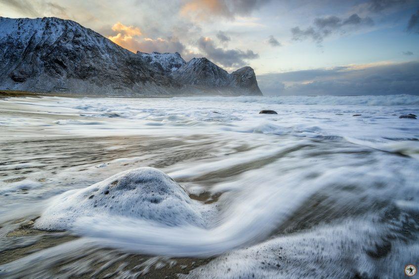 Lofoten Landscape Unstad Beach