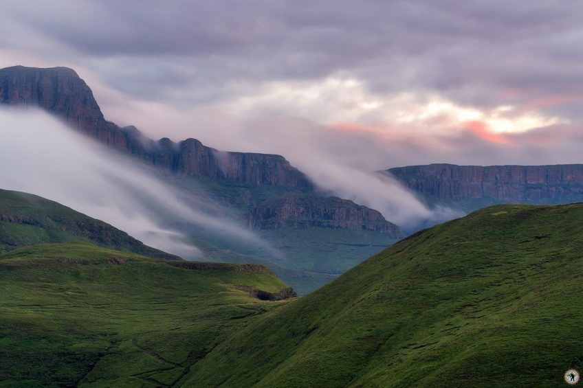 Drakensberge Sunset