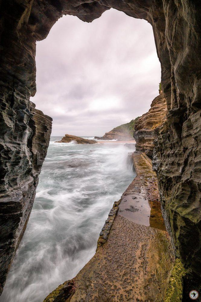 Ballito Südafrika Hole in the Wall