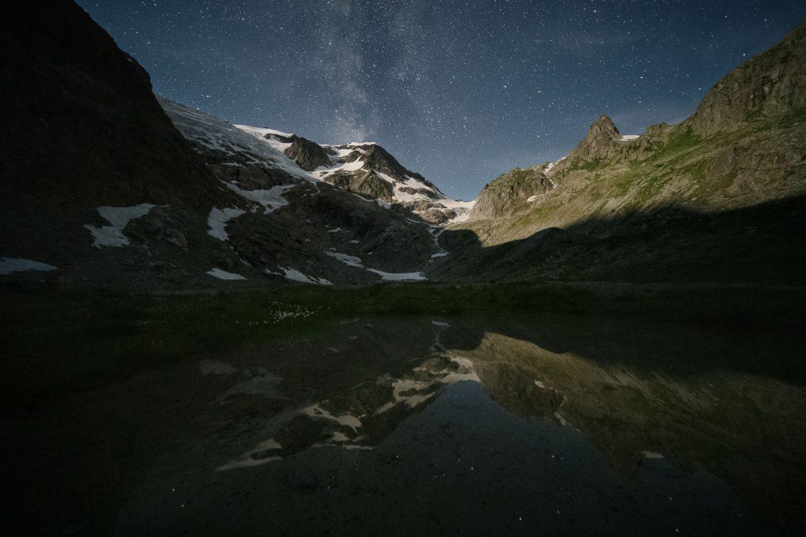 Sustenpass Mondlicht