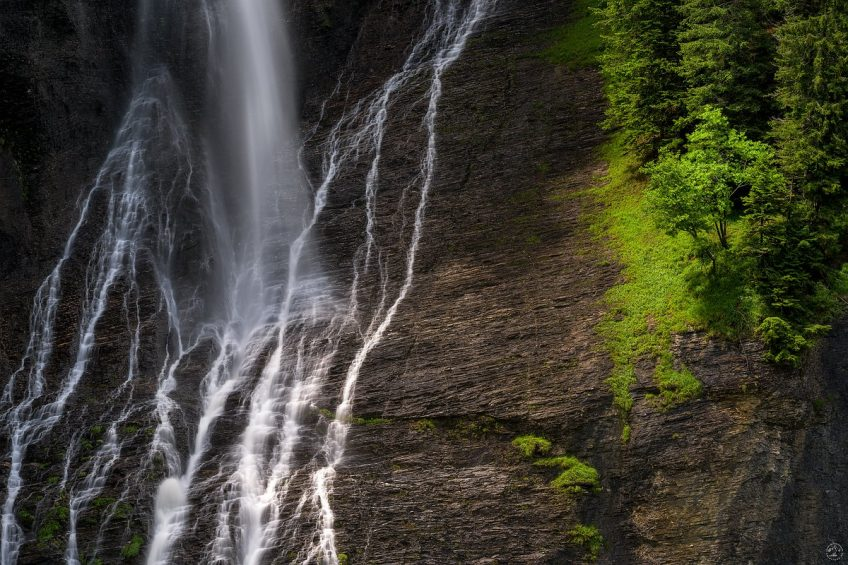 Rosenlaui Wasserfall