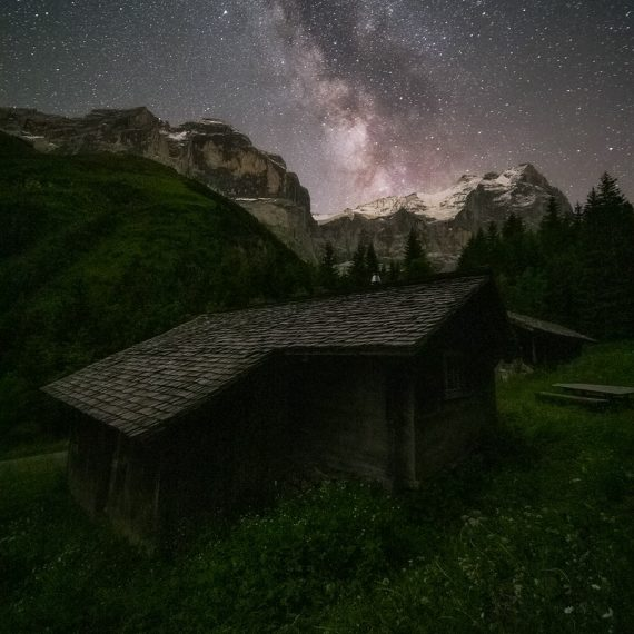 Schwarzwaldalp Schweiz Wetterhorn