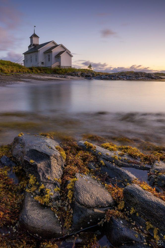 Gimsøy Lofoten Kirche