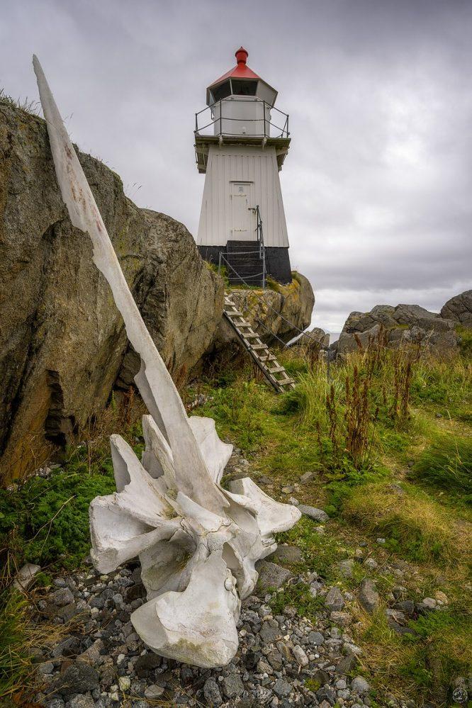 Gimsøya Lighthouse Lofoten