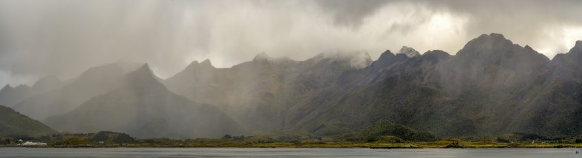 Herbstwetter Lofoten