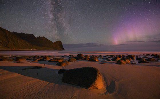 Milchstraße Lofoten